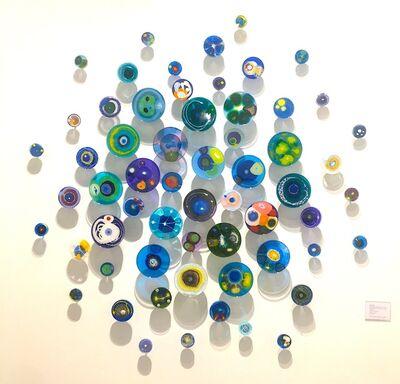 Klari Reis, 'Hypochondria Blue, 60 pieces', 2018