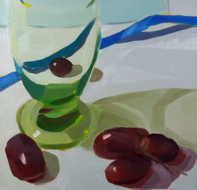 Yuri Tayshete, 'Green Glass and Grapes', 2019