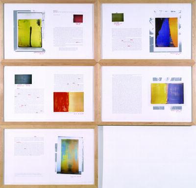 David Diao, 'Synecdoche', 2003