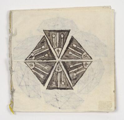 James Castle, 'Untitled (Kaleidoscope book)', n.d.