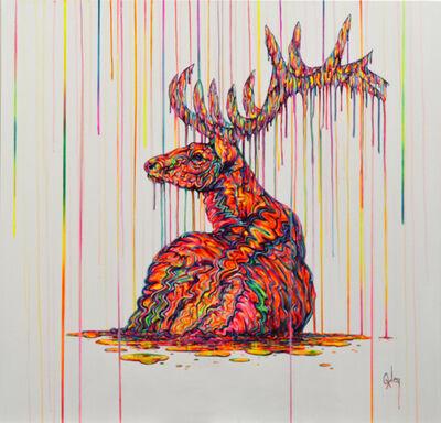 Robert Oxley, 'The Rain King', 2017