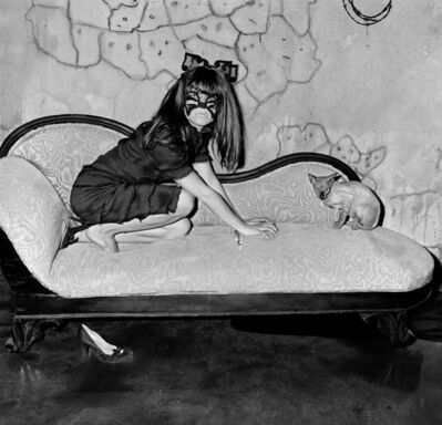 Roger Ballen, 'Selma Blair and Sphinx', 2005