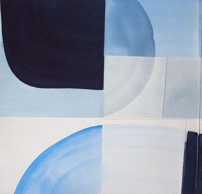 Claire Oswalt, 'Untitled (Blue Excerpt)', 2016