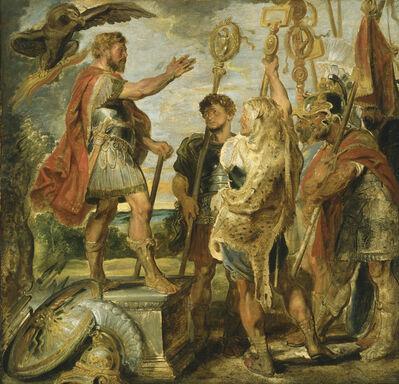 Peter Paul Rubens, 'Decius Mus Addressing the Legions', probably 1616