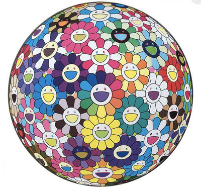 Takashi Murakami, 'Flower Ball: Multicolor', 2015
