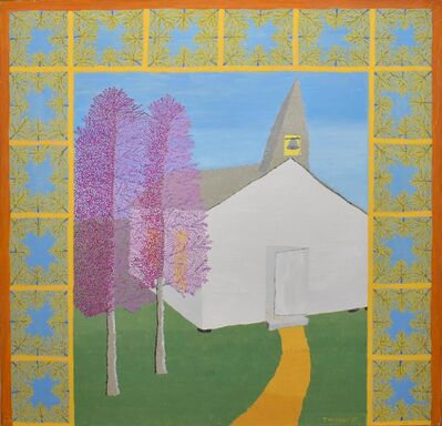 Theora Hamblett, 'White Church', 1959