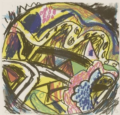 Gillian Ayres, 'Crystal Fields', 1987