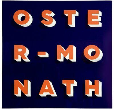 Gary Stranger, 'Oster-Monath', 2015