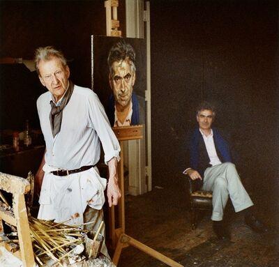 David Dawson, 'Man with a Blue Scarf', 2004