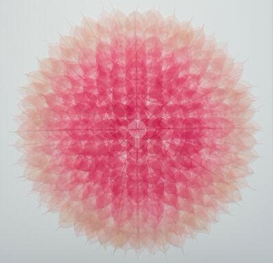 Miya Ando, ' Mandala (Momoiro)', 2020