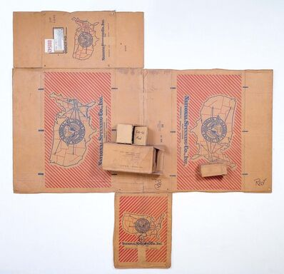 Robert Rauschenberg, 'National Spinning / Red / Spring (Cardboard)', 1971
