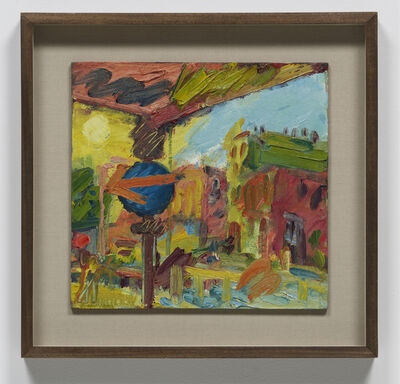 Frank Auerbach, 'The Awning I', 2008