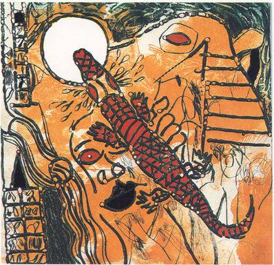 Josep Guinovart, 'Para que los cocodrilos duerman', 1987