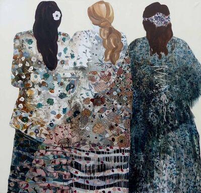 Florence Dussuyer, 'Ces dames élancées', 2019