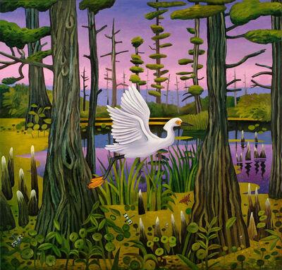 Billy Hassell, 'Egret, Grassy Lake ', 2008