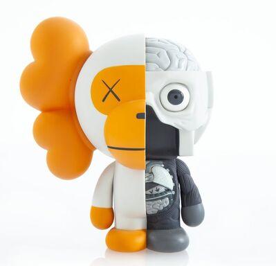 KAWS X BAPE, 'Dissected Milo (White/Grey)', 2011