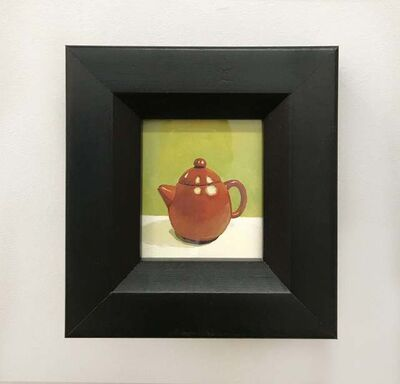 Russ Havard, 'Red-Brown Teapot', 2012