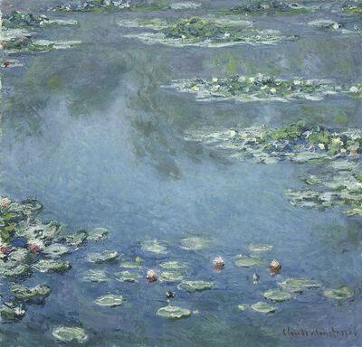 Claude Monet, 'Water Lilies', 1906