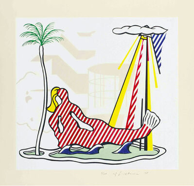 Roy Lichtenstein, 'Mermaid (from the Surrealist Series)', 1978