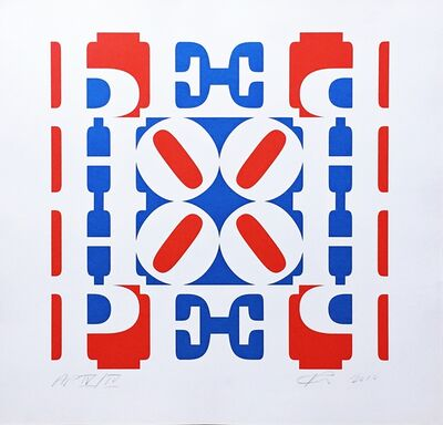 Robert Indiana, 'HOPE Wall (Red, White, and Blue)', 2010