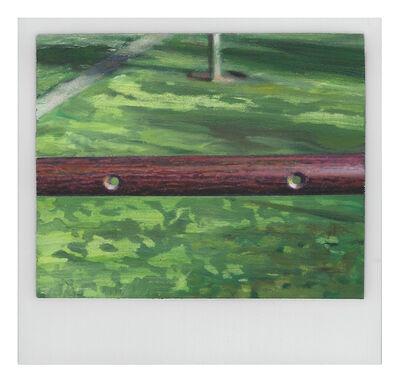 Martí Cormand, 'Wood Pole with Holes', 2019