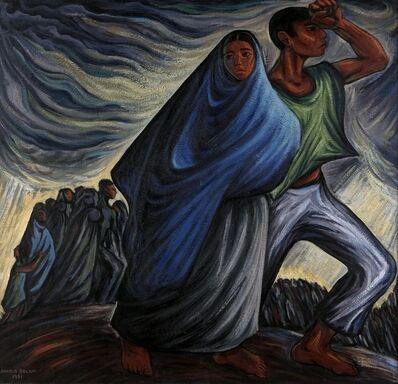 Arnold Belkin, 'Éxodo (Exodus)', 1951