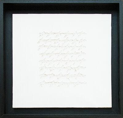 Alfredo Rapetti Mogol, 'Letters Bianco', 2012