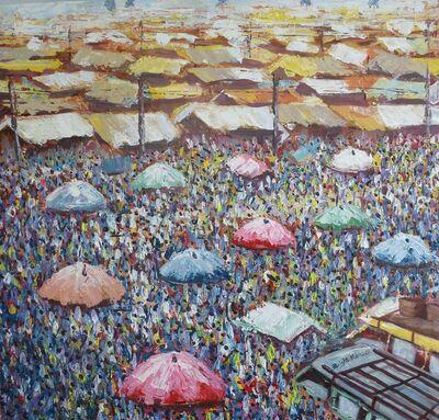 Bright Ebo Mensah, 'Afra Market', 2018