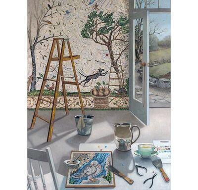 Barbara Kassel, 'Winter Mosaic'
