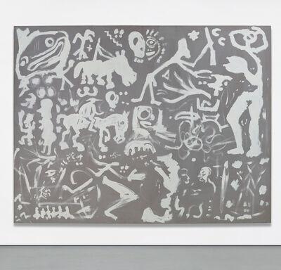 A.R. Penck, 'Belagerung und Einnahme von Beirut I', 1982
