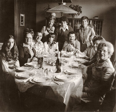 Stephen Dirado, 'My first photograph of my father and family, Easter, Marlborough, MA, March 30, 1975', 1975