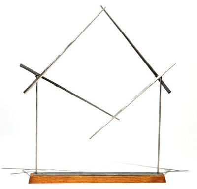 George Rickey, 'Unstable Square V', 1985