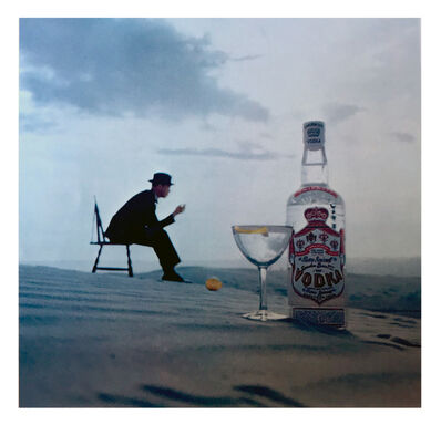Bert Stern, 'Out of the Blue, White Sands, New Mexico; Smirnoff Vodka', 1953