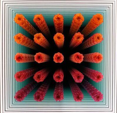 Peter Gronquist, '5x5 Orlane Gradient (Orange to Magenta) 1/5', 2018