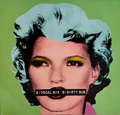 Banksy, 'Banksy Kate Moss record cover art (Kate Moss Banksy)', 2006