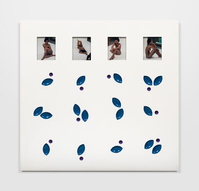 Elad Lassry, 'Untitled (Panel, Blue, Purple)', 2015