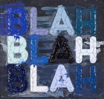 Mel Bochner, 'Blah Blah Blah', 2020