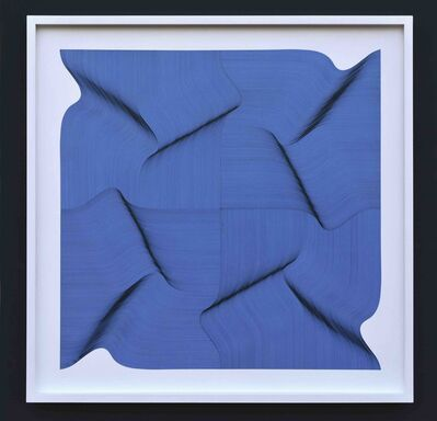 Roberto lucchetta, 'Dynamic Surface 2020 - Geometric Abstract', 2020