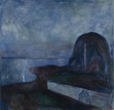 Edvard Munch, 'Starry Night', 1893