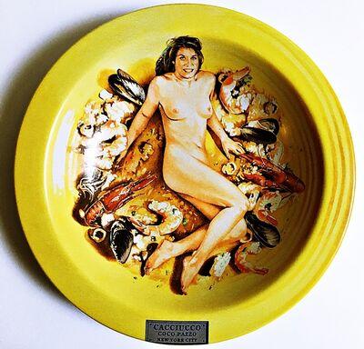 Mel Ramos, 'Cacciucco - Coco Pazzo - New York, NY', ca. 2000