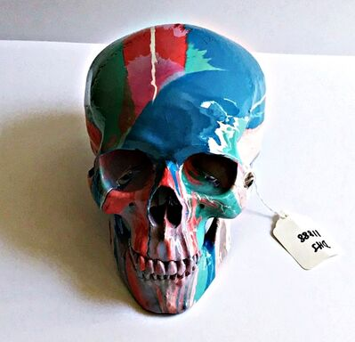 Damien Hirst, 'Skull (Hand signed with authentication letter, artist's tag and museum provenance)', 2010
