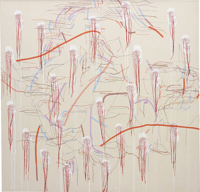 Ghada Amer, 'A Kiss From Alison', 2002