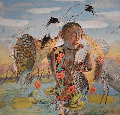 Eleanor Spiess-Ferris, 'Listening to Frogs', 2019