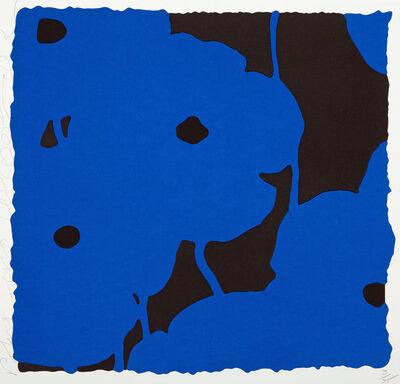 Donald Sultan, 'Blues, Sept. 20th, 2008', 2008
