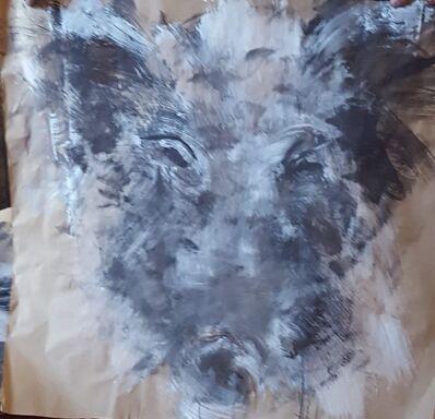 Marc Prat, 'Wild boar II', 2018