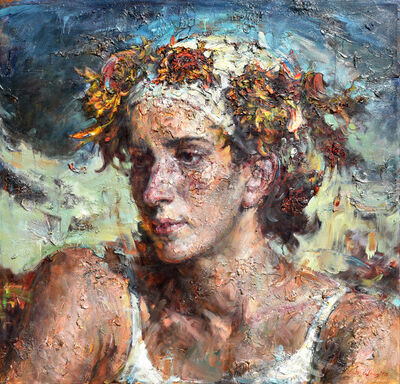 Victor Wang, 'Flowered Turban', 2016