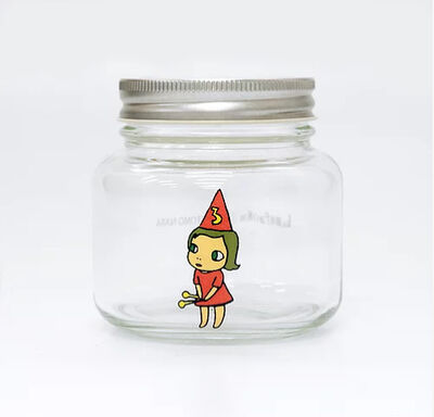 Yoshitomo Nara, 'Girl Storage Jar (320ml, Red)', ca. 2017