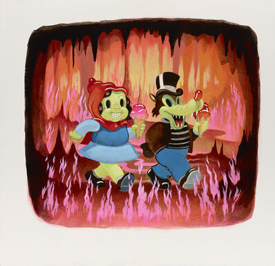 Victor Castillo, 'Fire Walkers', 2015