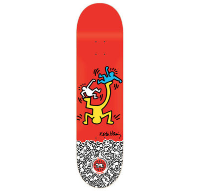 Keith Haring, 'Keith Haring Skateboard Deck (Red)', ca. 2011