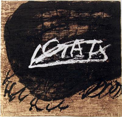 Antoni Tàpies, ''Gat'', 1998